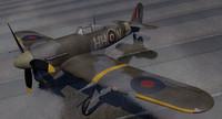 hawker typhoon mk-1b early 3ds