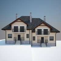 house home 3d obj