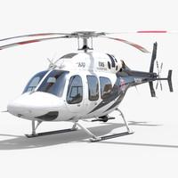 3d bell 429 ems model