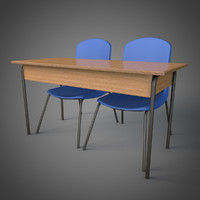 SchoolTable and chairs