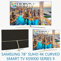 Samsung 78 SUHD 4K Curved Smart TV KS9000 Series 9