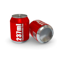 Drinks Can - 237ml Standard