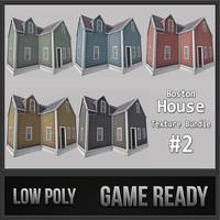 boston house 02 3d 3ds