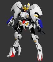 3d model gundam