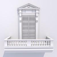 classic balcony