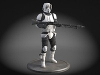 Star Wars Scout trooper