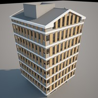 3d apartment v-ray model