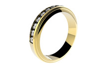 3d ring set diamonds
