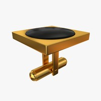 cufflinks collada dae 3d model