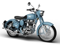 Royal Enfield Classic Squadron Blue 2016