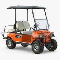 3d golf car xrt 850