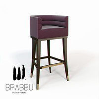 3d maa bar chair