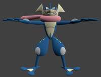pokemon kalos 3d model