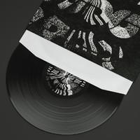 vinyl record 3d c4d
