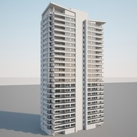3d v-ray apartment model