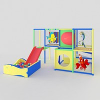 children s play complex 3d max