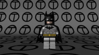 Lego Batman Black/Grey suit