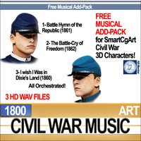 Civil War Music Free Musical Add Pack