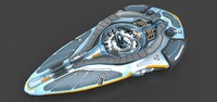 starship stars 3d max
