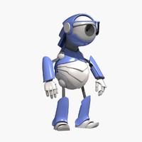 robot web camera 3d model