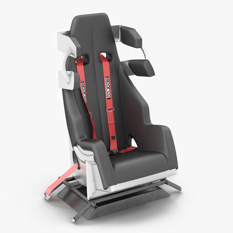 Racing Car Seat 3d model 00.jpg