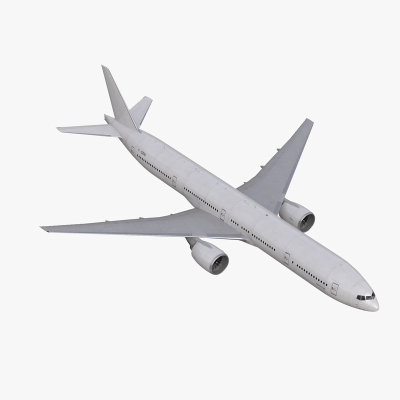 Boeing 777-300 Generic Rigged 3dsmax vray 3d model 00.jpg