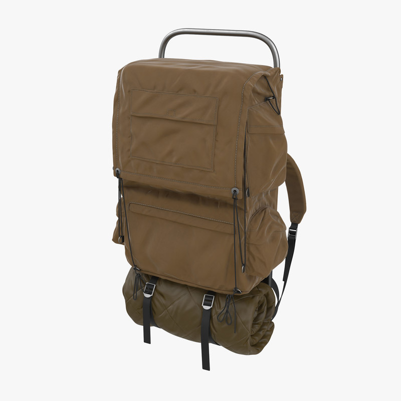 Camping Backpack mb 3d model 00.jpg