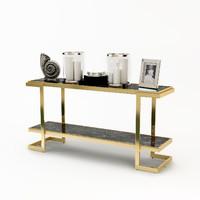 eichholtz console table senato 3d model
