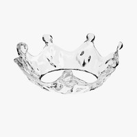 water crown 3d 3ds