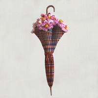 flowers in an umbrella