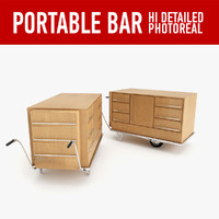 portable bar 3d 3ds