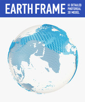 3d c4d earth