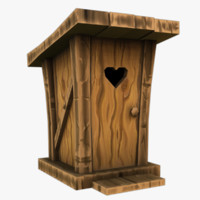 3d model outhouse games