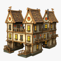 house games 3d max