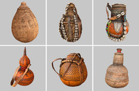 6 kalebas drinking tanks obj