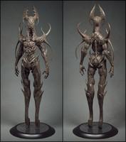 3d model of alien
