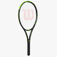3d wilson tennis racket