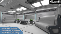 interior furniture sci-fi pack max