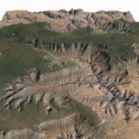 Grand Canyon Terrain Landscape
