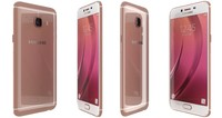 3d model samsung galaxy c5 rose