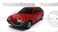 3d car russian 2109 model