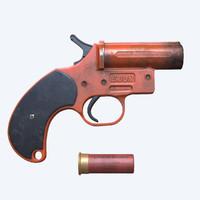 flare gun clean dirty