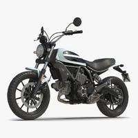 generic motorcycle 3d c4d