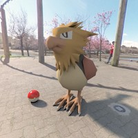 3d model of pokemon spearow