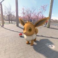 3d model pokemon eevee