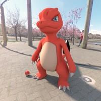 pokemon charmeleon 3d max