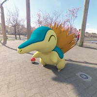 pokemon cyndaquil 3d model