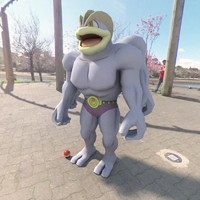 pokemon machamp 3d model