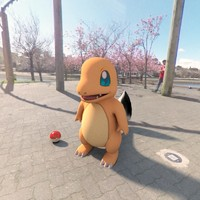 3d pokemon charmander model