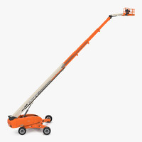 3d telescopic boom lift jlg model